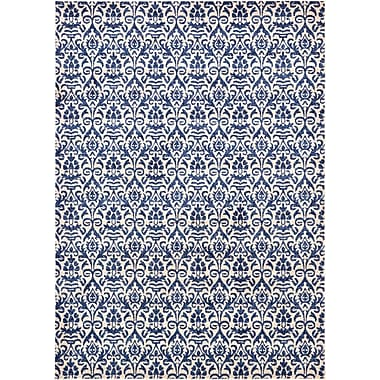 Ophelia & Co. Alcera Blue Area Rug; 7' x 10'
