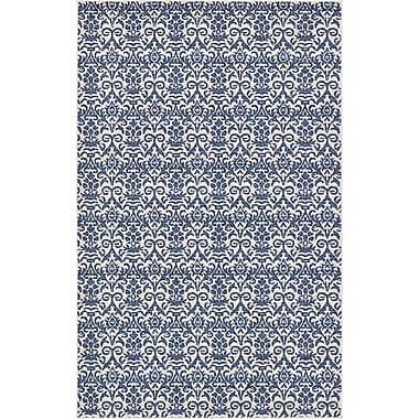 Ophelia & Co. Alcera Blue Area Rug; 5' x 8'