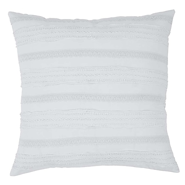 Ophelia & Co. Willandra Euro Sham; White
