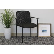 Symple Stuff Guest Chair; Black