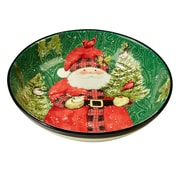 The Holiday Aisle Winter's Plaid Serving Bowl