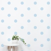 SimpleShapes Textured Dots Wall Decal (Set of 105); Sky Blue