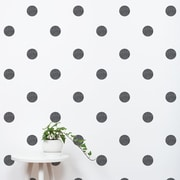 SimpleShapes Textured Dots Wall Decal (Set of 105); Black