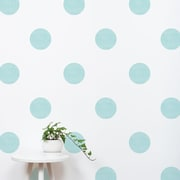 SimpleShapes Textured Dots Wall Decal (Set of 32); Mint