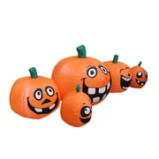 The Holiday Aisle Halloween Funny Pumpkin Patch Inflatable