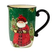 The Holiday Aisle Winter's Plaid Pitcher
