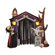 The Holiday Aisle Halloween Inflatable Haunted House Decoration