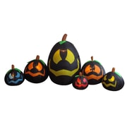 The Holiday Aisle Halloween Inflatable Freestanding Pumpkins Decoration