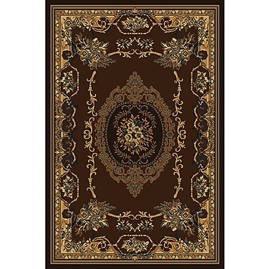 World Menagerie Cherelle Brown Area Rug; 3'11'' x 5'3''