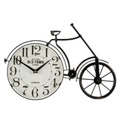 Williston Forge Bicycle Metal Wall Clock