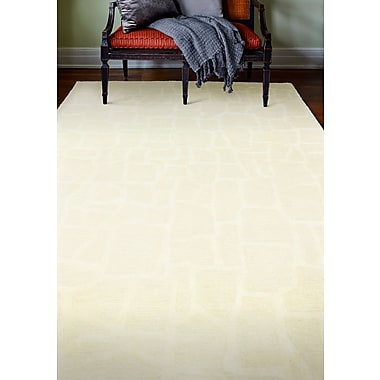 Bloomsbury Market Jared Hand-Tufted Snow Area Rug; 8' x 10'