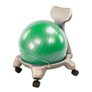 Zoomie Kids Irvin Exercise Low Back Kids Novelty Chair; Green