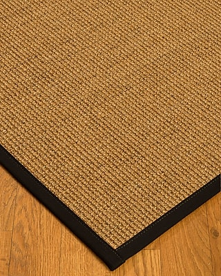 August Grove Belves Natural Fiber Sisal Hand-Woven Beige Area Rug; 6' x 9'