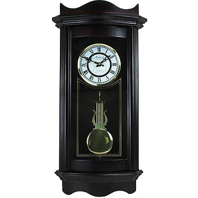 Astoria Grand Chocolate Cherry Wood Wall Clock