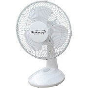Brentwood 9'' Oscillating Table Fan