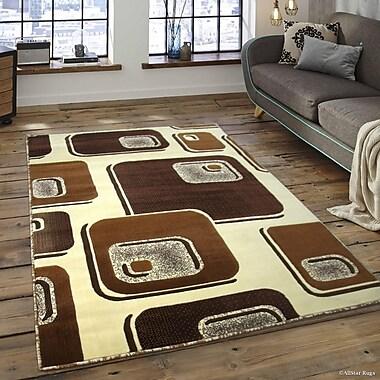 Ebern Designs Spencer Ivory Area Rug; 5'2'' x 7'2''