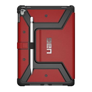 UAG – Étui Metropolis pour iPad 5e génération, noir/rouge (IPD17EMG)