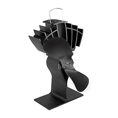 Ecofan UltrAir 810CAXBX Wood Stove Top Fan, Black Blade