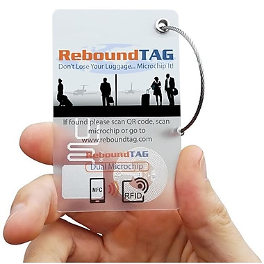 ReboundTAG Microchip Luggage Tag (711879)