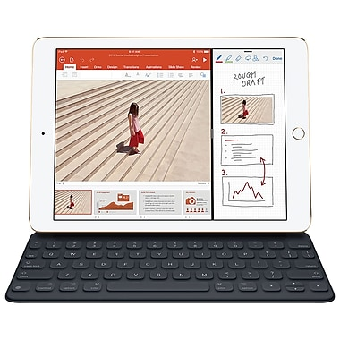 Apple – Clavier Smart Keyboard pour iPad Pro de 10,5 po, français canadien (MPTL2C/A)