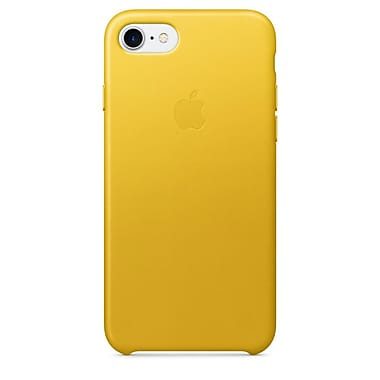 Apple – Étui en cuir pour iPhone 7, tournesol (MQ5G2ZM/A)