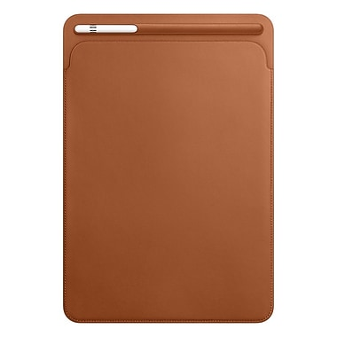 Apple – Pochette en cuir pour iPad Pro 10,5 po, brun alézan (MPU12ZM/A)
