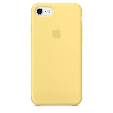 Apple – Étui en silicone pour iPhone 7, pollen (MQ5A2ZM/A)