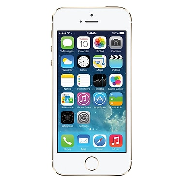 Apple iPhone 5s 32GB Unlocked GSM 4G LTE Dual-Core Phone Refurbished - Gold