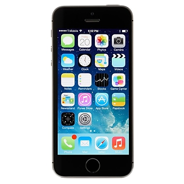 Apple iPhone 5s 32GB Unlocked GSM 4G LTE Dual-Core Phone Refurbished - Space Gray