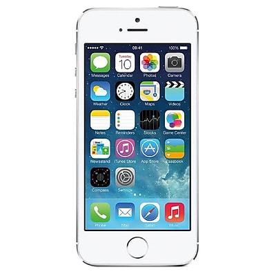 Apple iPhone 5s 32GB Unlocked GSM 4G LTE Dual-Core Phone Refurbished - Silver