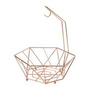 Symple Stuff Fruit Basket; Copper