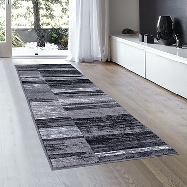 Orren Ellis Ingram High-Quality Shadow Area Rug; Runner 2'3'' x 6' 11''