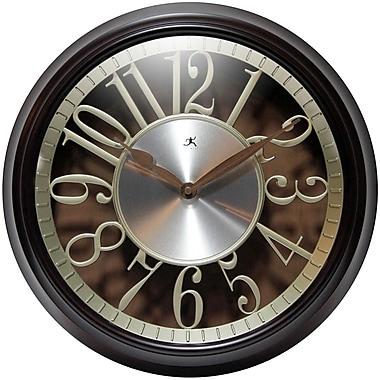 Red Barrel Studio 15'' Brown Round Wall Clock