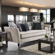 Darby Home Co Meyer Contemporary Sofa; Light Gray/Gray