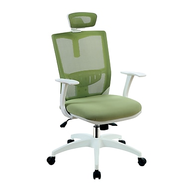Latitude Run Macungie Contemporary Office Mid-Back Mesh Desk Chair; Green