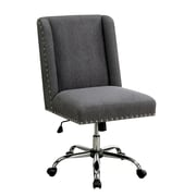 Ivy Bronx Corktown Contemporary Office Mid-Back Desk Chair; Gray