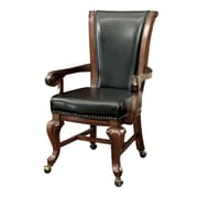EnitialLab Rakim Transitional Lounger Game Chair Set (Set of 2); Brown Cherry