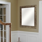 World Menagerie Gold Rugged Slope Beveled Mirror