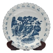 World Menagerie Christien Round Porcelain Plate