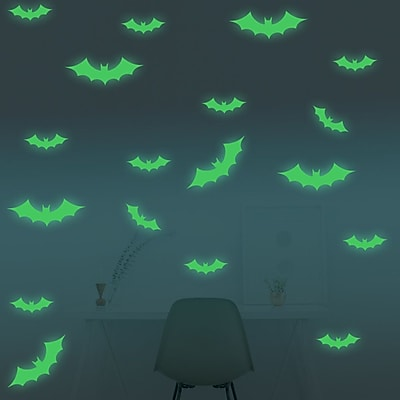 Walplus Bat Glowing Wall Decal