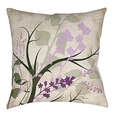 August Grove Lois Indoor/Outdoor Throw Pillow; 18'' H x 18'' W x 5'' D