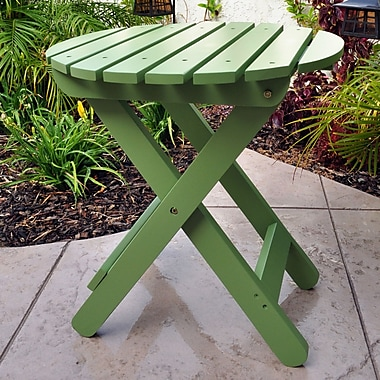 August Grove Mallory Side Table; Leap Frog