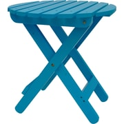 August Grove Mallory Side Table; Turquoise
