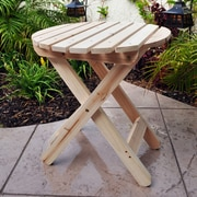 August Grove Mallory Side Table; Natural
