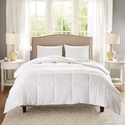 Anew Edit Copper Infused Microfiber Heavyweight Down Alternative Comforter; Full/Queen