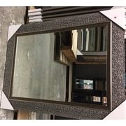 Bloomsbury Market Contemporary Rectangle Beveled Mirror; 43'' H x 27'' W x 1.5'' D