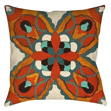 Bloomsbury Market Laila 1 Printed Throw Pillow; 16'' H x 16'' W x 4'' D