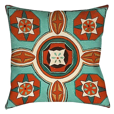 Bloomsbury Market Laila 4 Indoor/Outdoor Throw Pillow; 18'' H x 18'' W x 5'' D