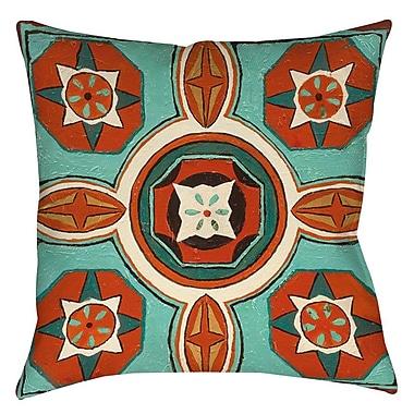 Bloomsbury Market Laila 4 Printed Throw Pillow; 16'' H x 16'' W x 4'' D