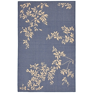 Charlton Home Aldreda Blue Indoor/Outdoor Area Rug; 7'10'' x 9'10''